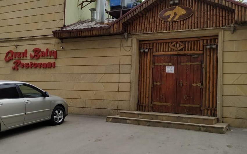 Bakıda karantini pozan restoranın icarədarı və müştəriləri cərimələndi - FOTO