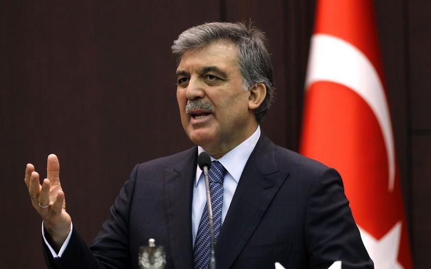 """Abdullah Gül: """"Son zamanlar Azərbaycana qarşı edilən hücumları qınayıram"""""""
