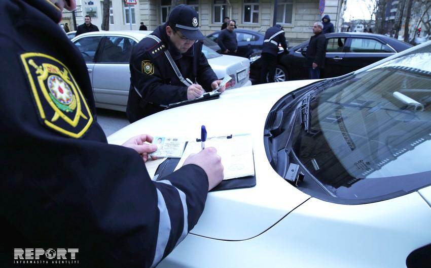 Yol polisi bir gündə 8984 sürücünü cərimələyib