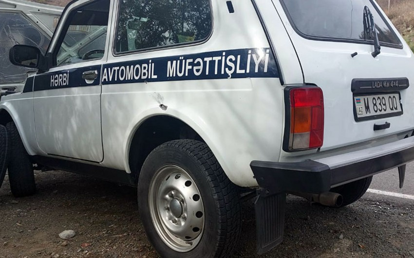 Azerbaijani Defense Ministry: A convoy of civilian cars moving from Sugovushan to Kalbajar subjected to fire