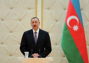 President Ilham Aliyev congratulates Azerbaijani people on the occasion of Eid al-Adha