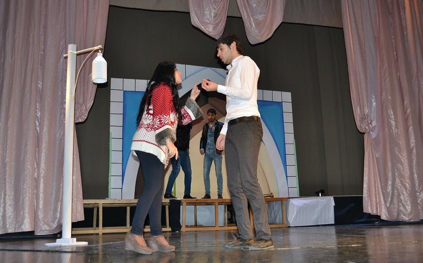 Xalq artisti Mingəçevir Teatrında premyeraya hazırlaşır