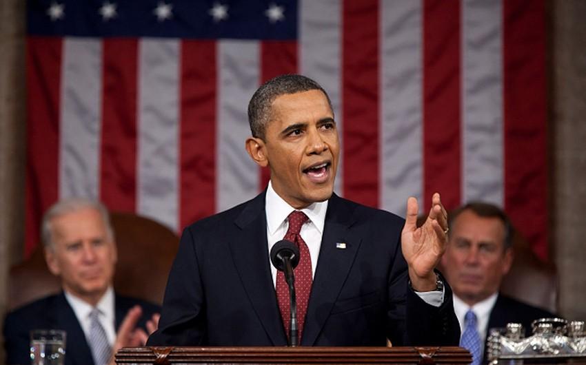 Barak Obama Konqres qarşısında son çıxışını yanvarın 12-də edəcək