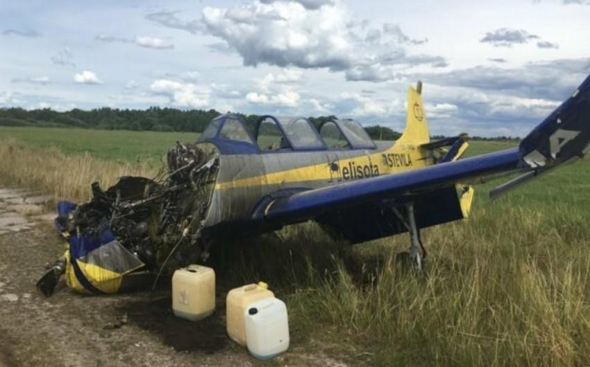 В Литве разбился спортивный самолет, есть погибшие