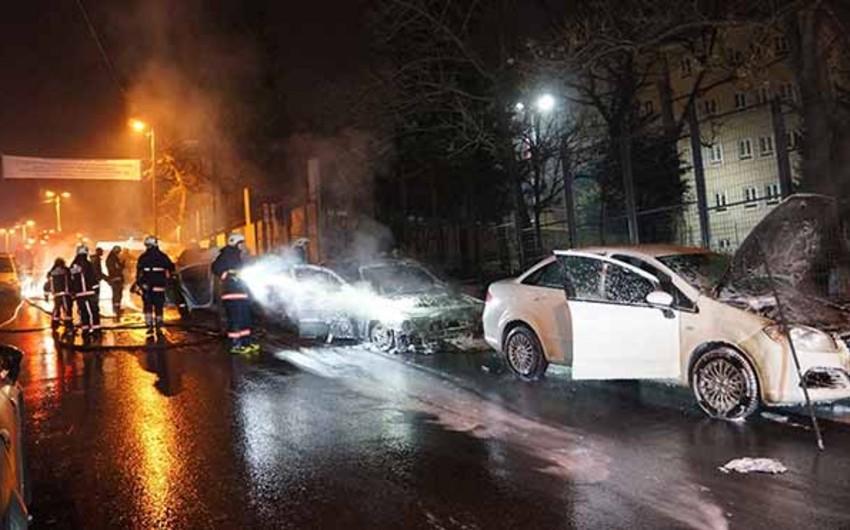 Fransada Yeni il gecəsində 650 avtomobilin yandırılmasına görə 454 nəfər saxlanılıb