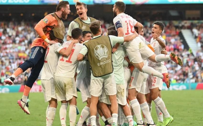 ЕВРО-2020: Испания в дополнительное время побеждает Хорватию