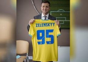 Зеленский прокомментировал выход сборной Украины в плей-офф