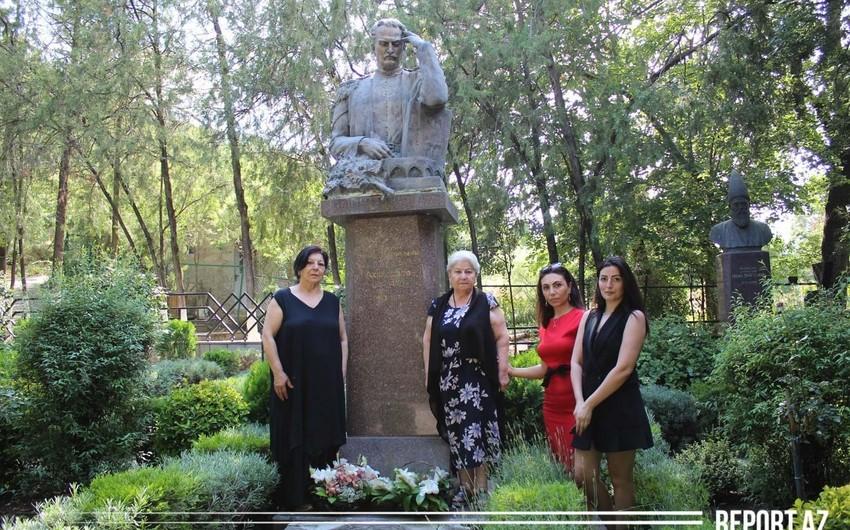 Tbilisidə Mirzə Fətəli Axundzadənin xatirəsi anılıb