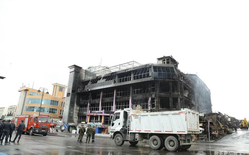 Президент Азербайджана подписал распоряжение о создании Комиссии в связи с пожаром в ТЦ Диглас