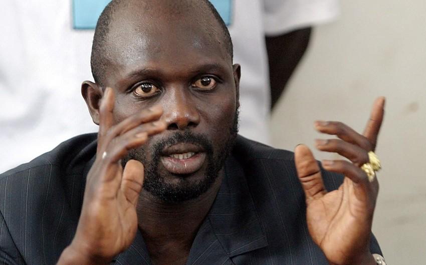Məşhur futbolçu Corc Vea Liberiyada baş tutan prezident seçkilərində liderlik edir