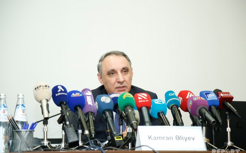 """Kamran Aliyev: """"16 million 578 thousand AZN out of more than 51 million AZN of property damage in corruption crimes were paid"""""""