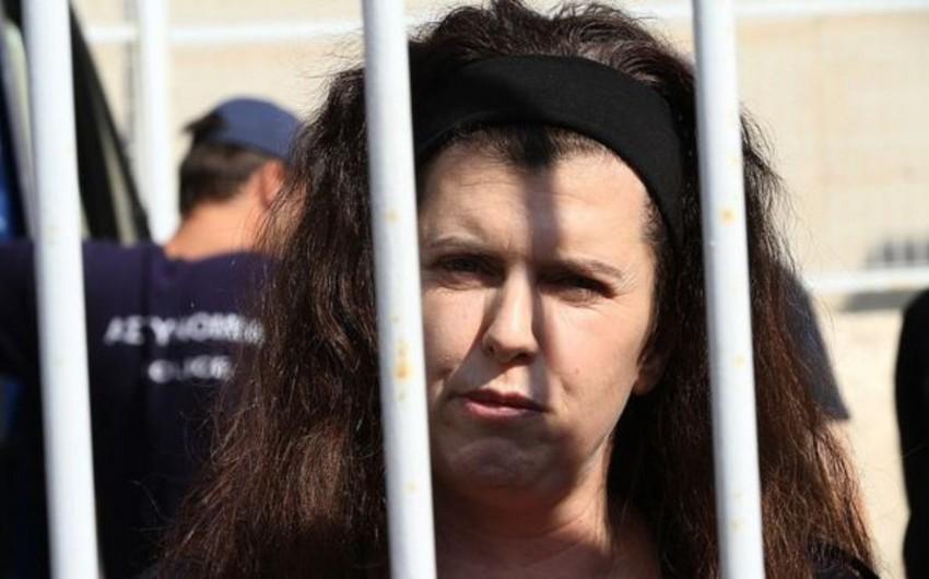 Yunanıstanda tanınmış terrorçu qadın tutulub