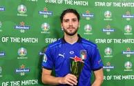 Евро-2020: Назван лучший игрок матча Италия-Швейцария