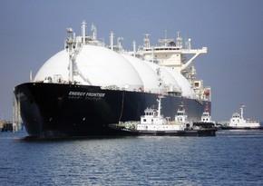 Avropa noyabrda LNG idxalını 39 % azaldıb