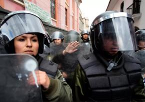 Boliviyada sabiq nazirlər dövlət çevrilişinə cəhd işi üzrə saxlanıldılar