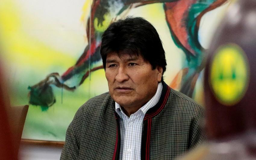 Morales prezident seçkilərində partiyasının qərargahına başçılıq edəcək