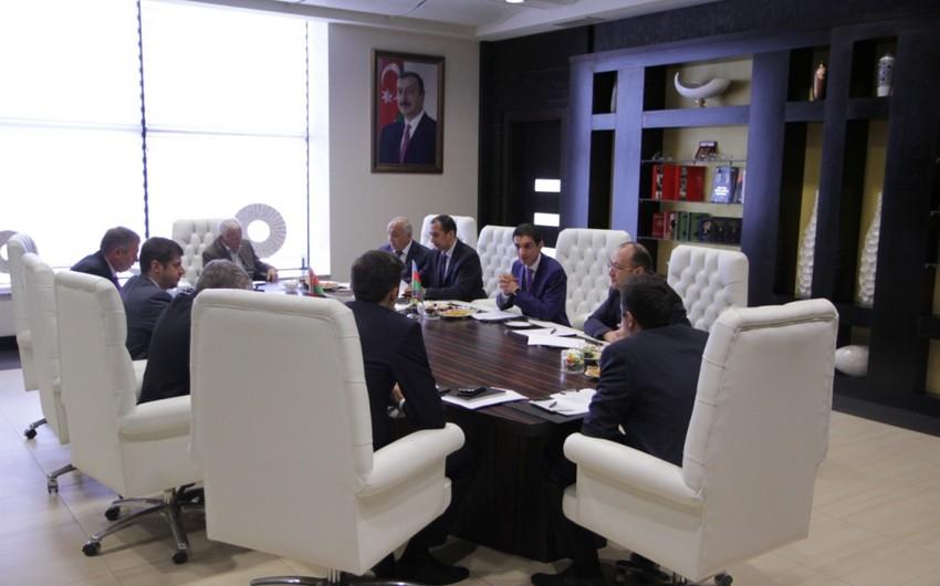 Bakıda Azərbaycan-Belarus beynəlxalq avtomobil daşımaları komissiyasının iclası keçirilib