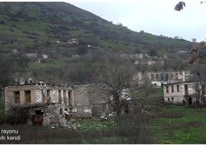 Видеокадры из села Горазиллы Физулинского района