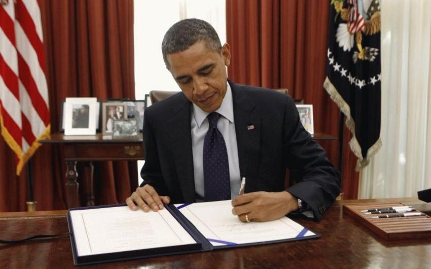 Prezident Barak Obama ABŞ-dan neft ixracına qadağanı ləğv edib