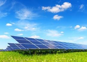 Azərbaycanda günəş enerjisinin istehsalı 8 % artıb
