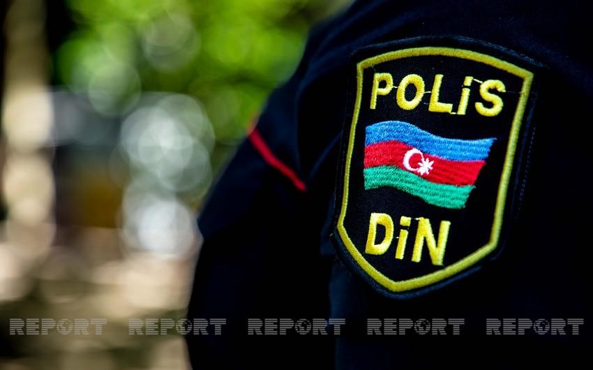 Sabirabadda qaydaları pozan sürücü polislərə xəsarət yetirib