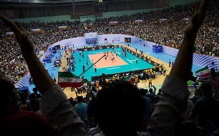 İranın voleybol yığması ABŞ seçməsi üzərində qələbə qazanıb