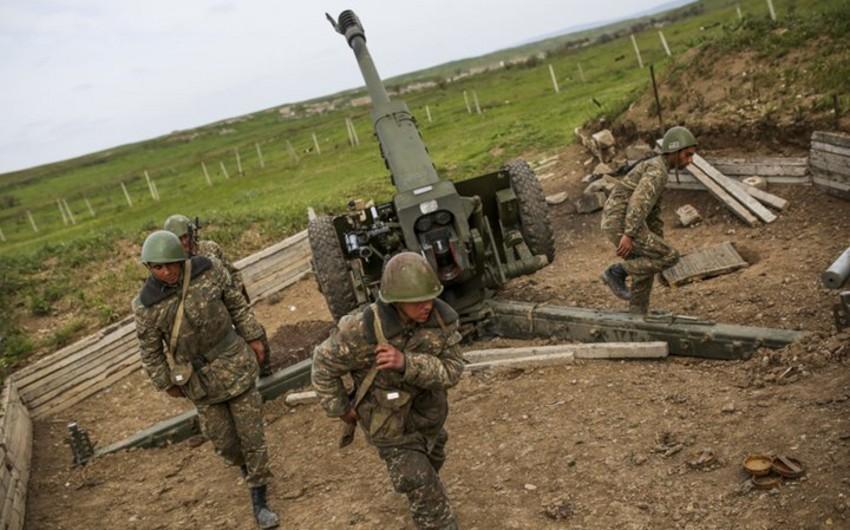 Ermənistan ordusunun artilleriyaçıları səhvən öz hərbi hissələrini bombalayıblar