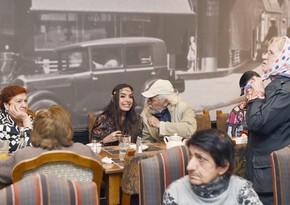 Лейла Алиева встретилась с жителями пансионата для инвалидов войны и труда
