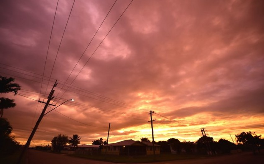 Avstraliyada güclü Debbi qasırğası baş verib, 1 nəfər ölüb