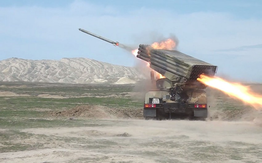 Azerbaijani Army launches tactical exercises of missile and artillery batteries