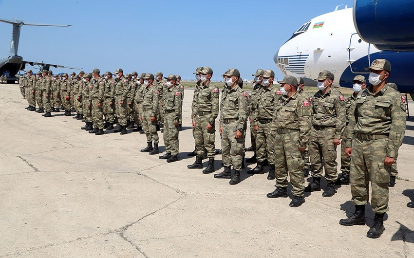 Turkish Forces arrive in Baku for joint military exercises