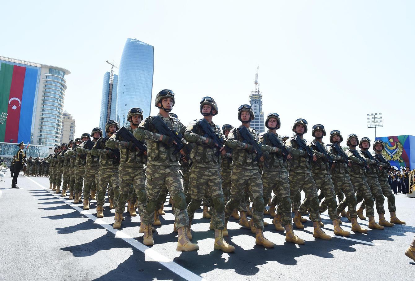 Azərbaycan Ordusunda  -