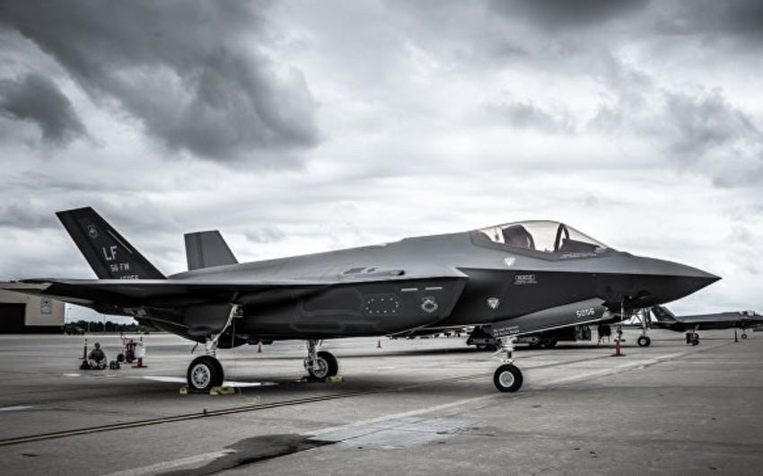 """ABŞ Müdafiə Nazirliyi """"F-35""""lərin uçuşlarını dayandırıb"""
