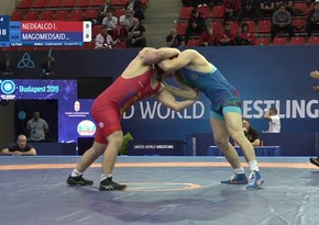 World Cup: Azerbaijani freestyle wrestler reaches semifinal