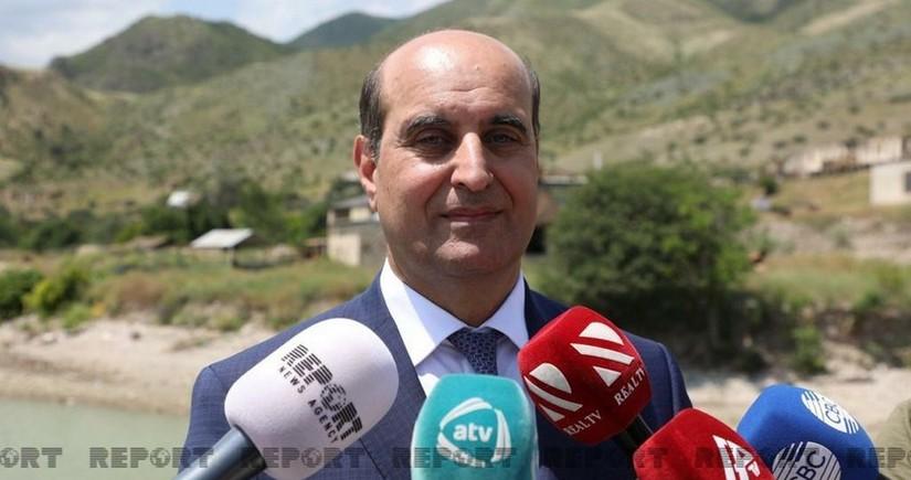 Назван объем потери воды в Азербайджане