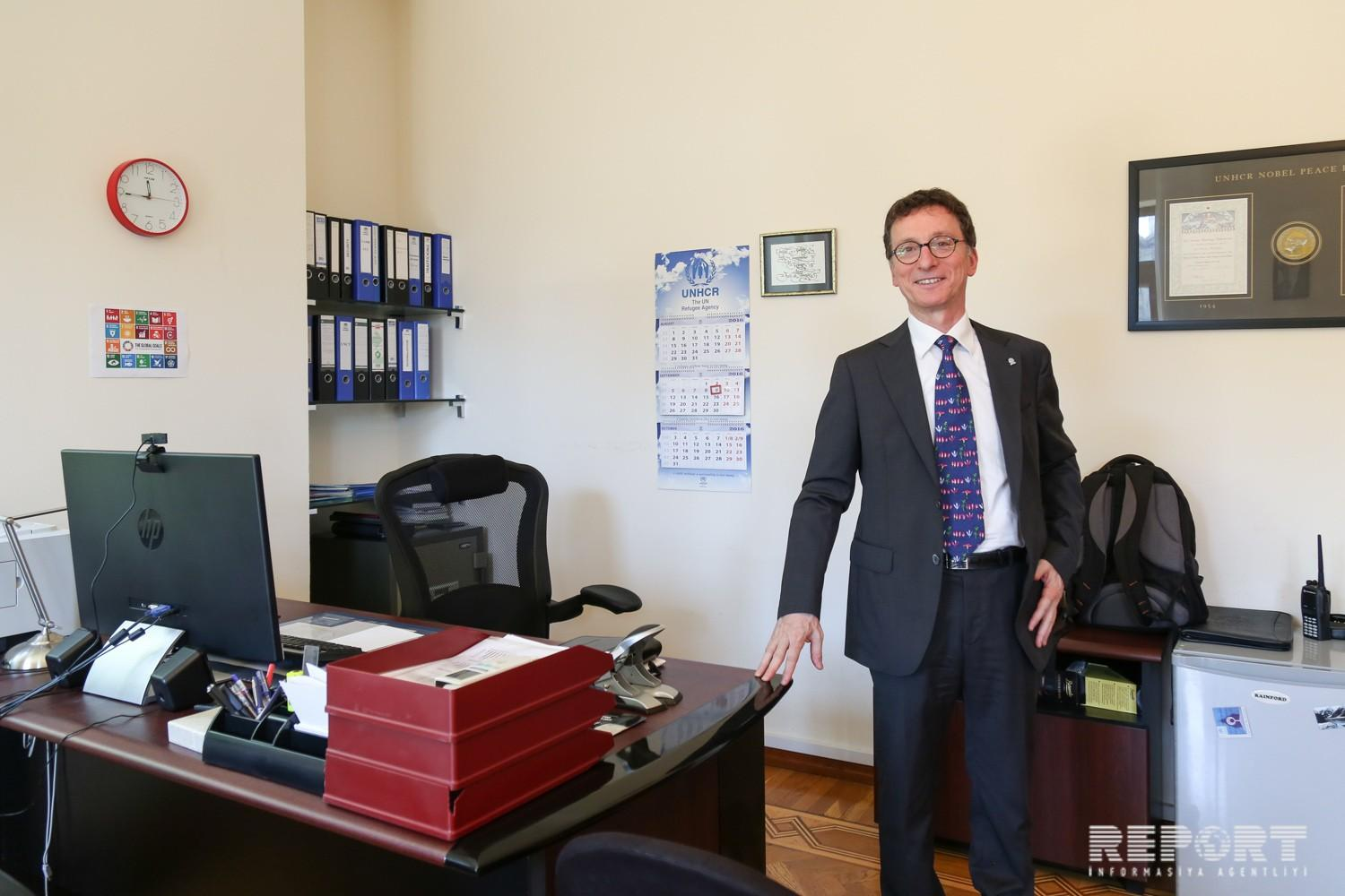 Country Representative of UNHCR completes his diplomatic mission in Azerbaijan