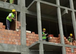 Bakıda inşaat işlərinin 89 %-ni özəl müəssisələr yerinə yetirir