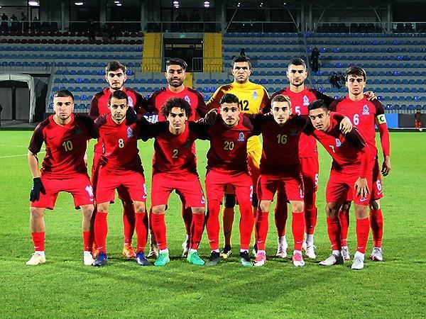 Сборная Азербайджана по футболу U21 проиграла на товарищеском матче