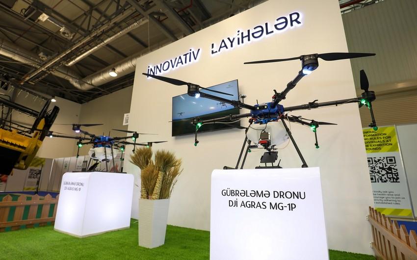 Azərbaycan istehsalı olan aqrodronlar Bakıdakı sərgilərdə nümayiş etdirilib