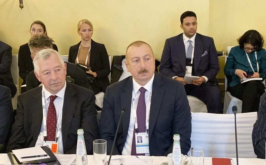 İlham Əliyev: Azərbaycan çox sabit neft təchizatçısı olaraq qalır
