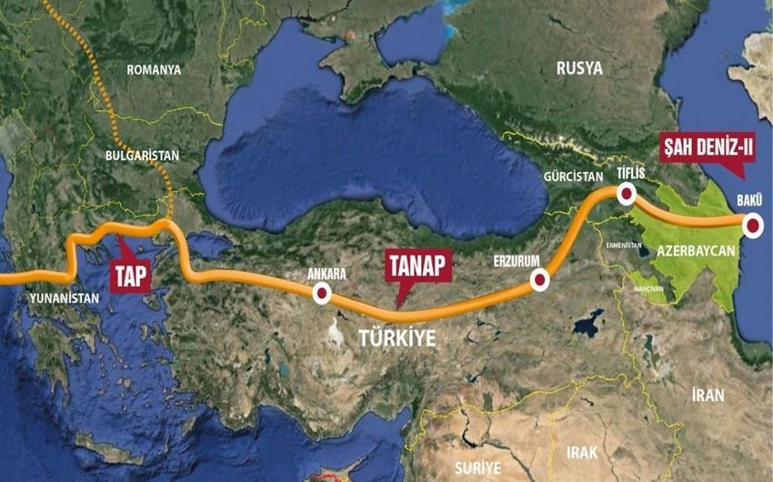 Президенты Турции и Украины обсудили поставки азербайджанского газа на Украину