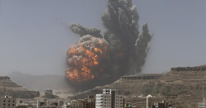 """ABŞ Əfqanıstanda """"Taliban""""ın mövqelərini bombalayıb"""