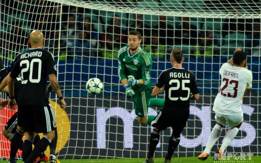 Qarabağ - Roma oyununun ən yaxşı futbolçuları müəyyənləşib