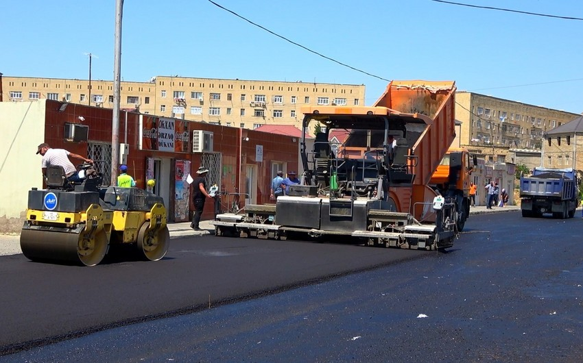 Prezident Bakıda yolların yenidən qurulmasına 6,4 milyon manat ayırıb