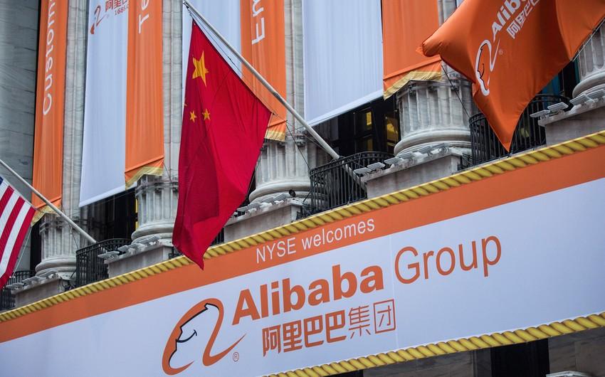 """Çin """"Alibaba""""nı 2,78 milyard dollar cərimələdi"""