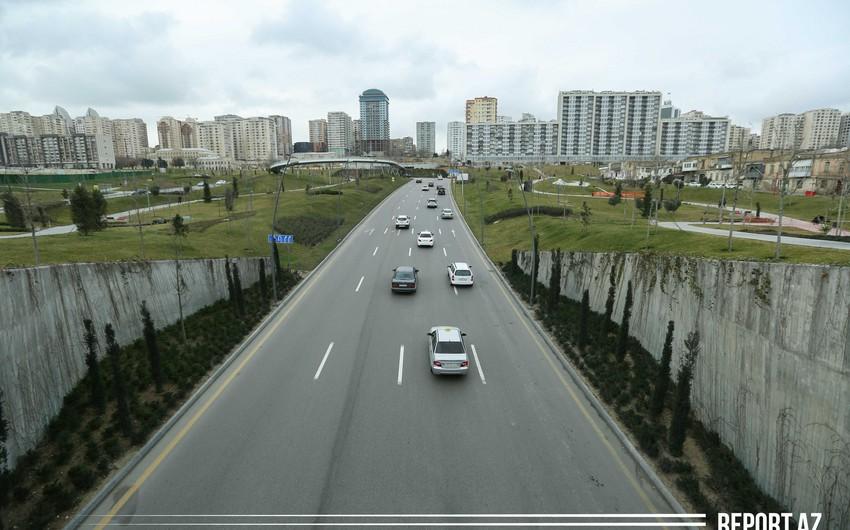 В Баку могут ограничить движение транспортных средств