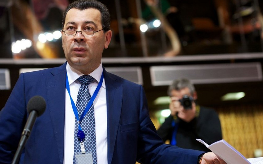 Samad Seyidov re-elected to the post of PACE Vice-president