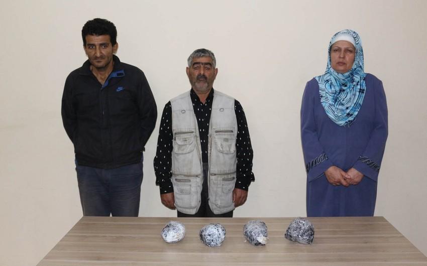 İrandan Azərbaycana narkotik vasitələr gətirən sərhəd pozucuları saxlanılıb
