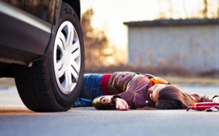 Bakıda gənc qızı avtomobil vuraraq öldürüb