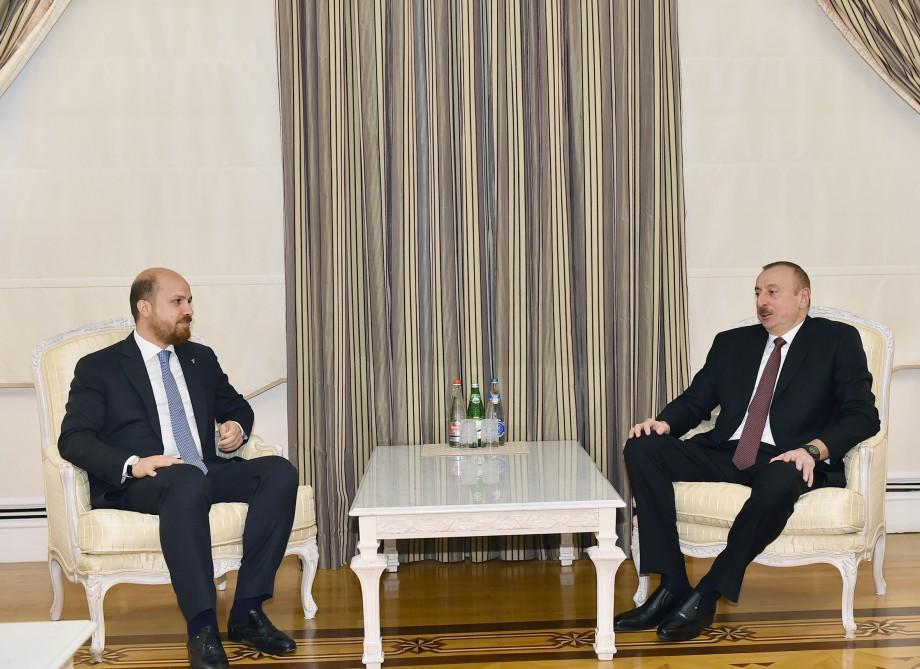 Prezident İlham Əliyev Türkiyənin gənclik və idman nazirini qəbul edib